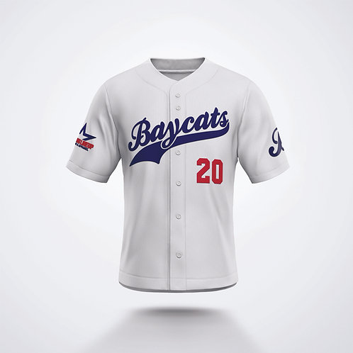Baycats 2021 White Game Jersey