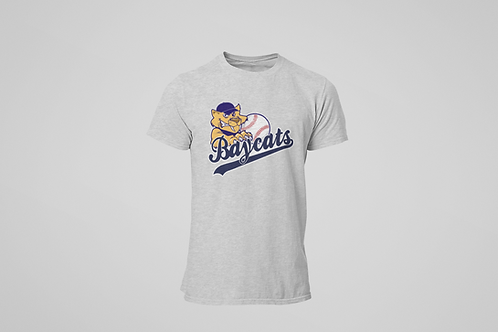 Barrie Baycats Classic Logo T-Shirt Grey
