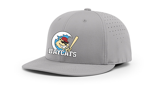 Baycats Richardson PTS30 Lite-R Stretch Fit Hat Grey Vintage Logo