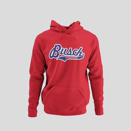 Busch Possums Red Performance Hoodie (Main Logo)
