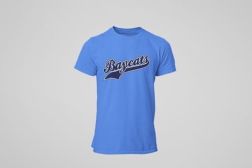 copy of Baycats Script Logo T-Shirt Royal Heather
