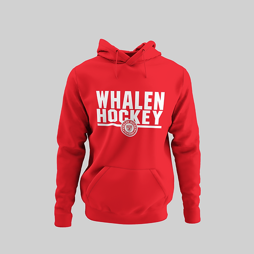 Whalen Blues Red Performance Hoodie