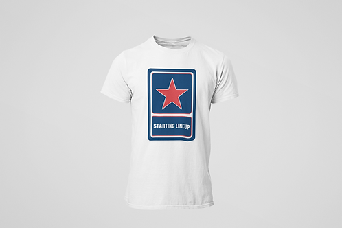 Starting Lineup Air Force Logo Premium Cotton T-Shirt