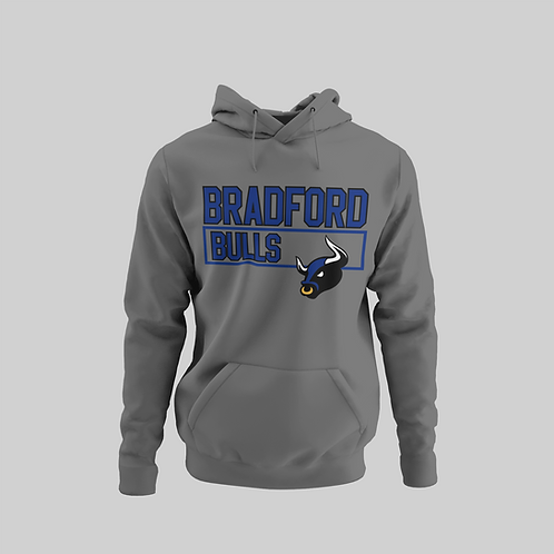 Bradford Bulls Grey Performance Hoodie