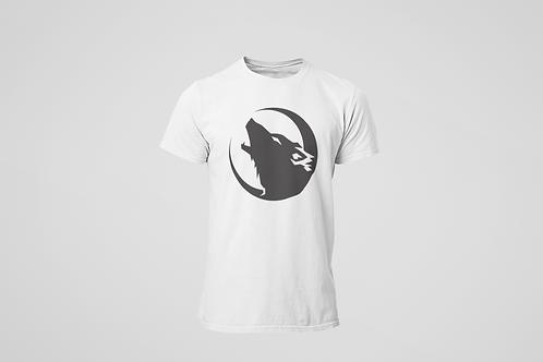 Barrie Wolfpack White T-Shirt (Black Logo)