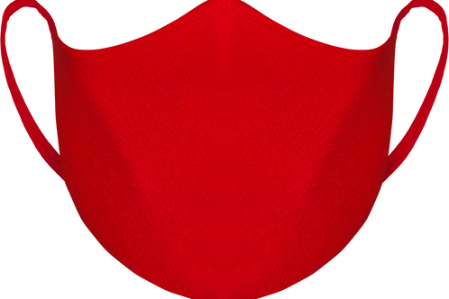 Red - Reusable Face Mask