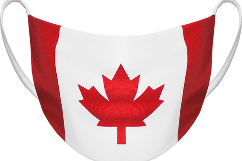 Canada Flag - Sublimated Reusable Face Mask