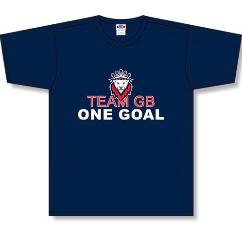 Team GB One Goal Cotton T-Shirt