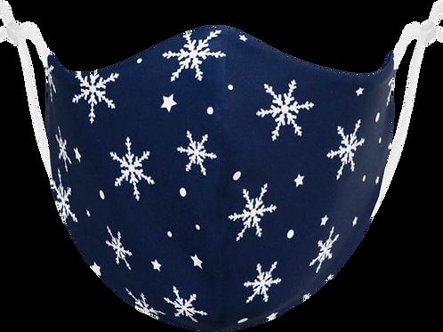 Snowflake Adjustable - Reusable Face Mask