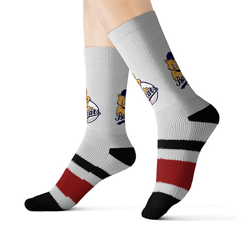 Baycats Primary Logo Sublimated Socks