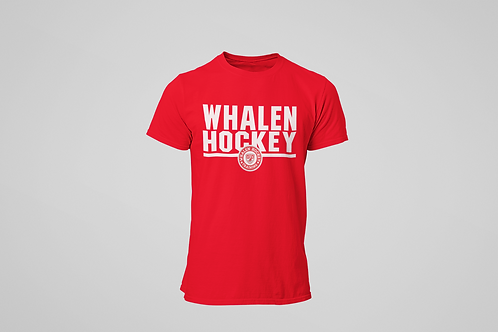 Whalen Blues Red T-shirt