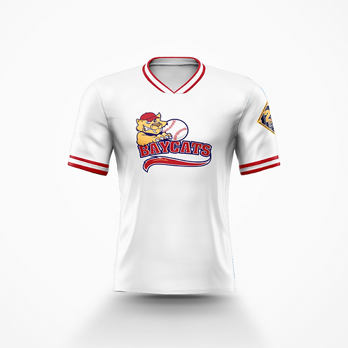 Barrie Baycats Throwback Jersey White