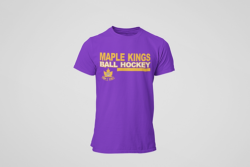 Maple Kings Purple T-Shirt