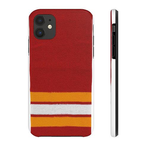 Calgary Flames Vintage Colours iPhone Case Mate Tough Phone Cases