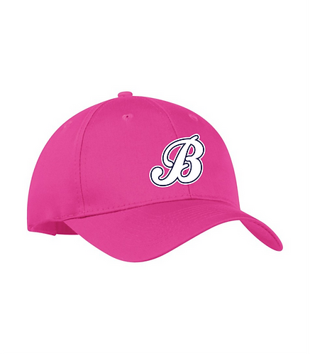 Baycats Youth Adjustable Hat Pink