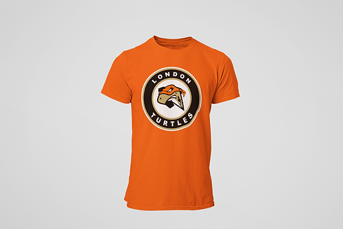 London Turtles Orange T-Shirt (Secondary Logo)