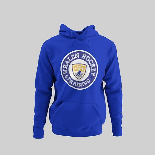 Whalen Blues Blue Performance Hoodie (Blue Logo)