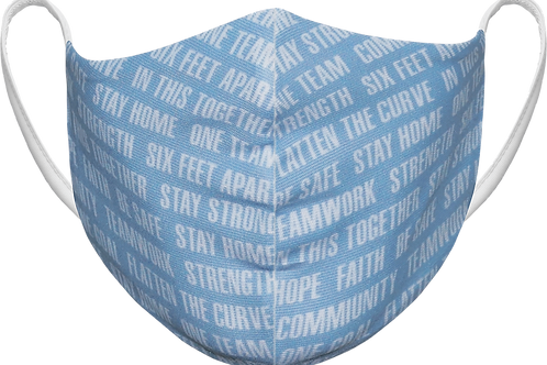 In This Together - Sublimated Reusable Face Mask