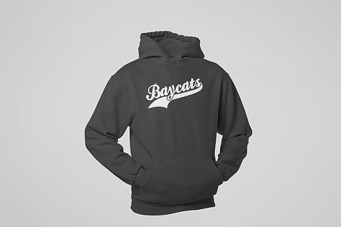 Baycats Script Logo Light Hoodie Charcoal Grey