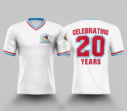 Barrie Baycats 20th Anniversary LIMITED EDITION Celebration Vintage Jersey