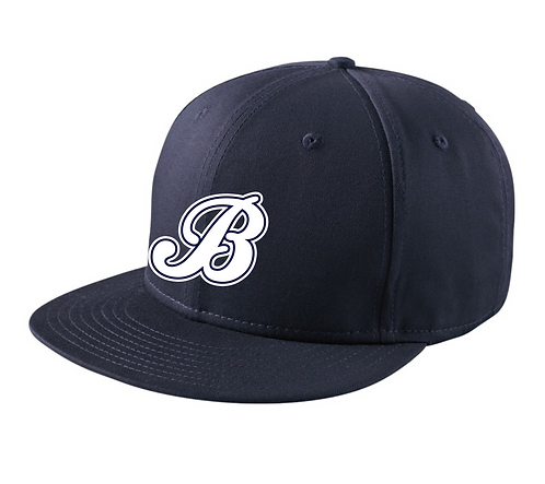 Baycats New Era Snapback Hat Navy