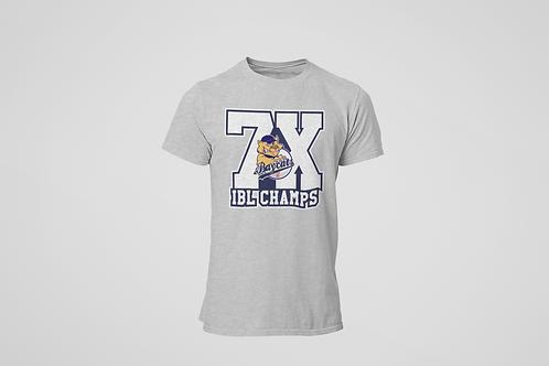 Baycats 7X Champs Cotton T-shirt Grey