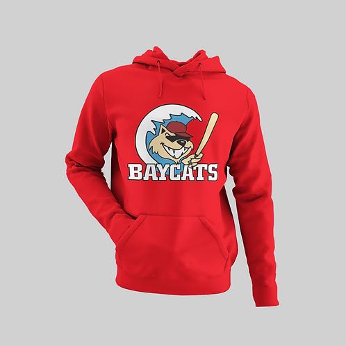 Baycats Vintage Logo Hoodie Red