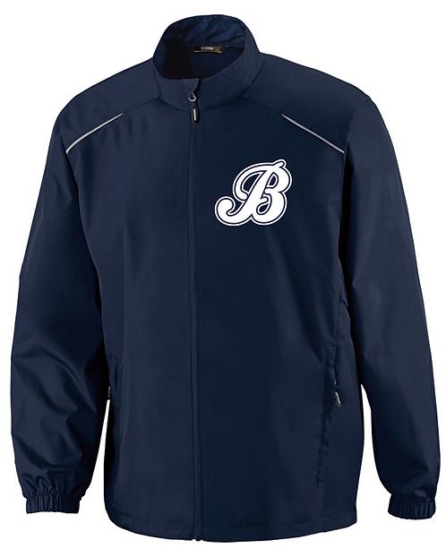 Baycats Navy Windbreaker Jacket B Logo