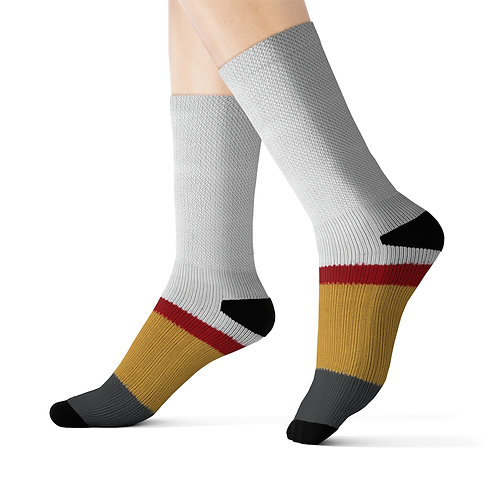 Vegas Golden Knights Team Colour Sublimated Socks