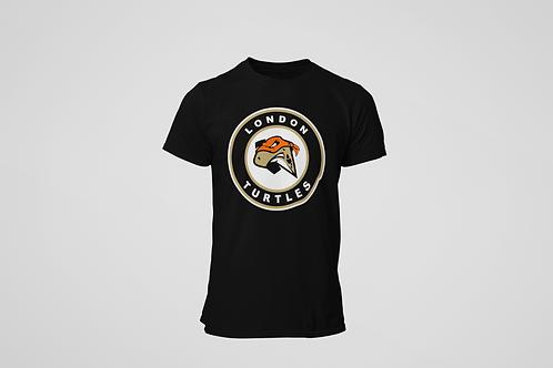 London Turtles Black T-Shirt (Secondary Logo)