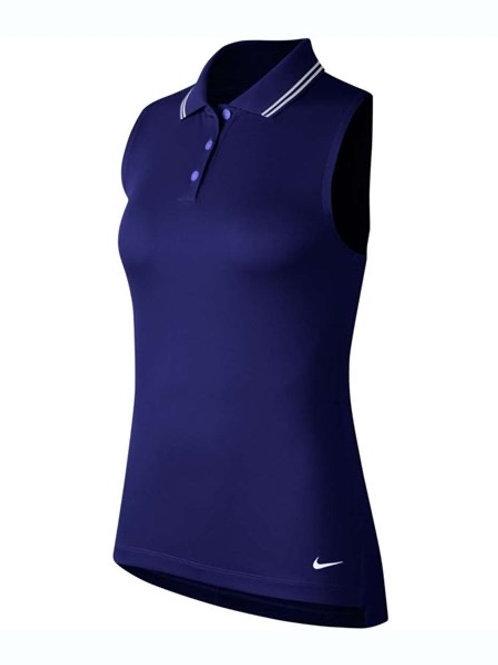 Nike Victory Ladies Sleeveless Golf Shirt