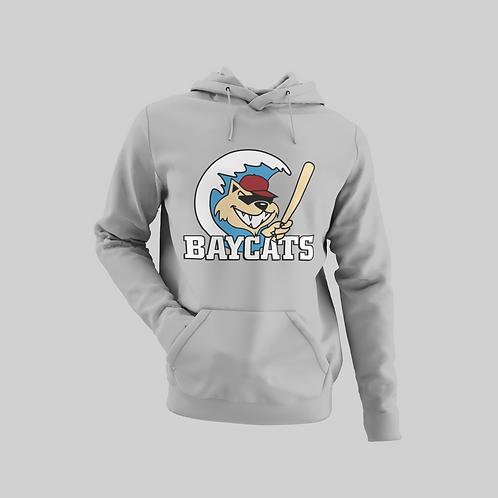 Baycats Vintage Logo Hoodie Grey