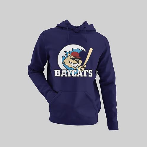 Baycats Vintage Logo Hoodie Navy
