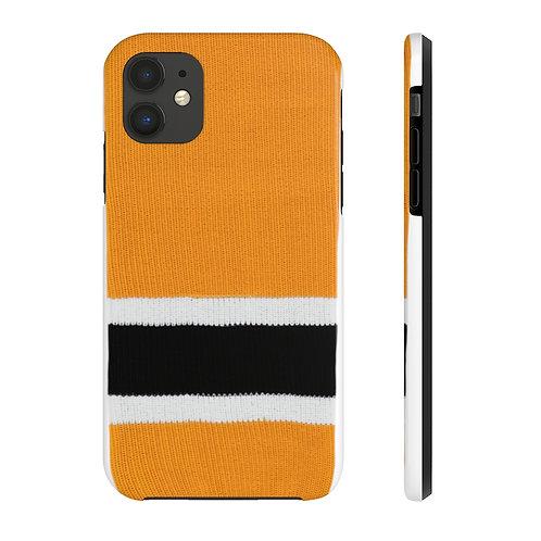 Boston Bruins Team Colour Case Mate Tough Phone Cases