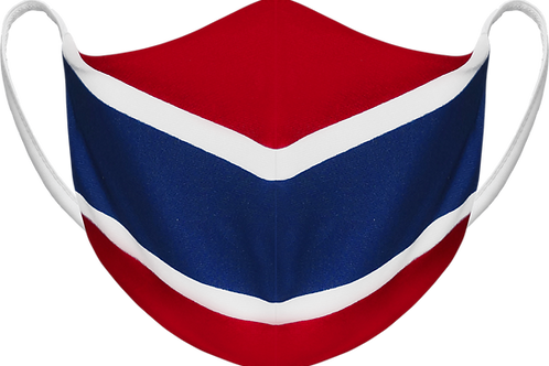 Montreal Canadiens Red - Sublimated Reusable Face Mask