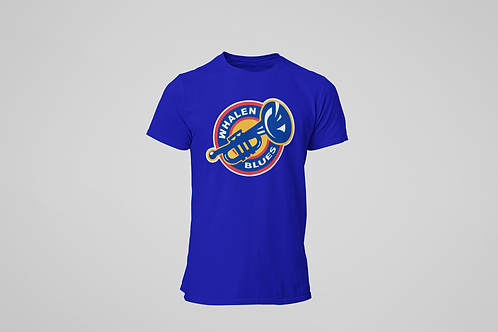 Whalen Blues Blue T-shirt (Alternate Logo)