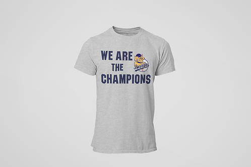 Baycats We are the Champs Cotton T-shirt Grey
