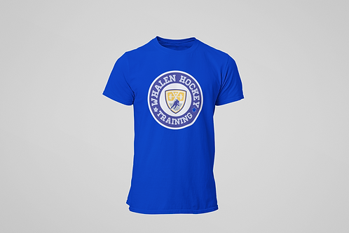 Whalen Blues Blue T-shirt (Blue Logo)