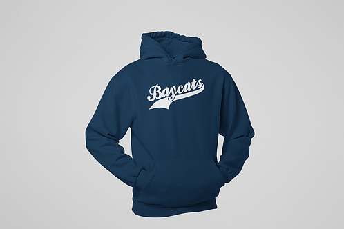 Baycats Script Logo Heavy Premium Cotton Hoodie