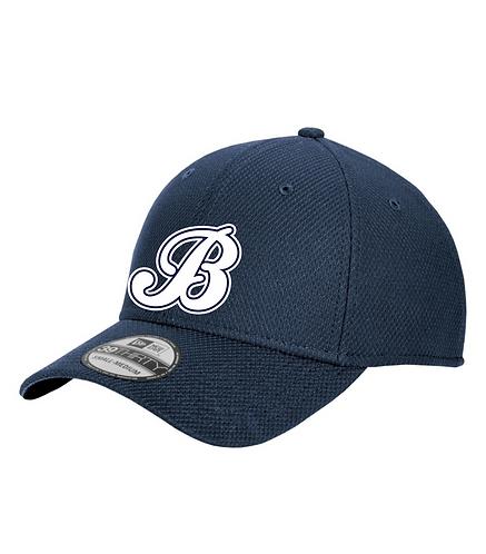 Baycats New Era Diamond Era BP Flexfit Hat Navy
