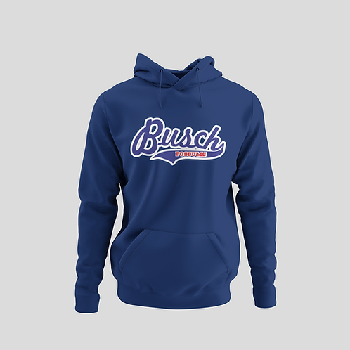 Busch Possums Blue Performance Hoodie (Main Logo)