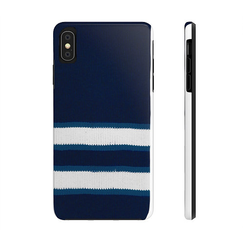 Winnipeg Jets Team Colour Case Mate Tough Phone Cases