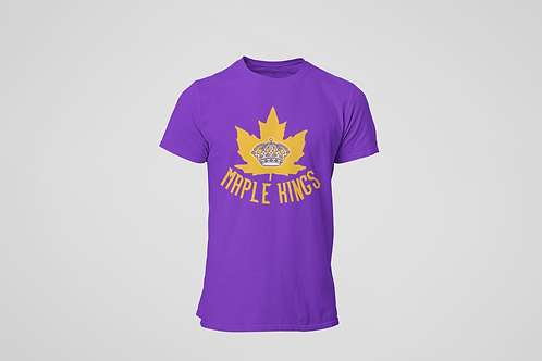 Maple Kings Purple T-Shirt
