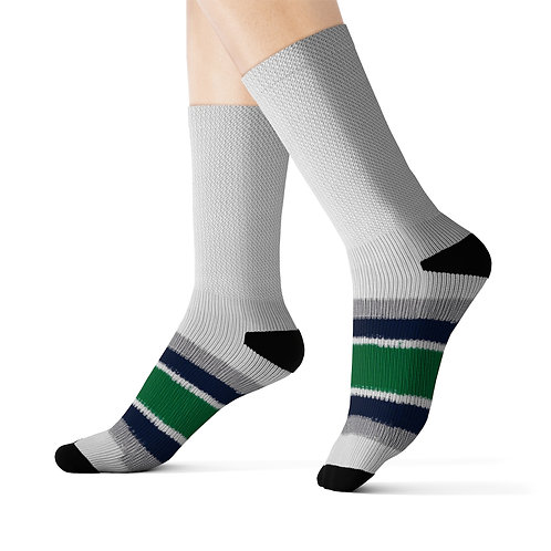 Hartford Whalers Team Colours Sublimated Socks