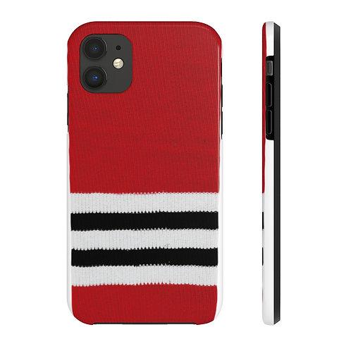 Chicago Blackhawks Team Colour Case Mate Tough Phone Cases
