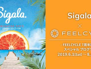 「FEELCYCLE」7周年記念!全英チャート1位連発の注目度No.1 DJ/プロデューサー Sigala とのスペシャルプログラム実施決定!