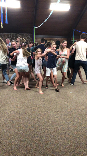 Every night was square dancing!