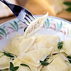 Raviolones de Ricota y Parmesano