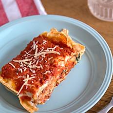 Lasagna Bolognesa con salsa fileto