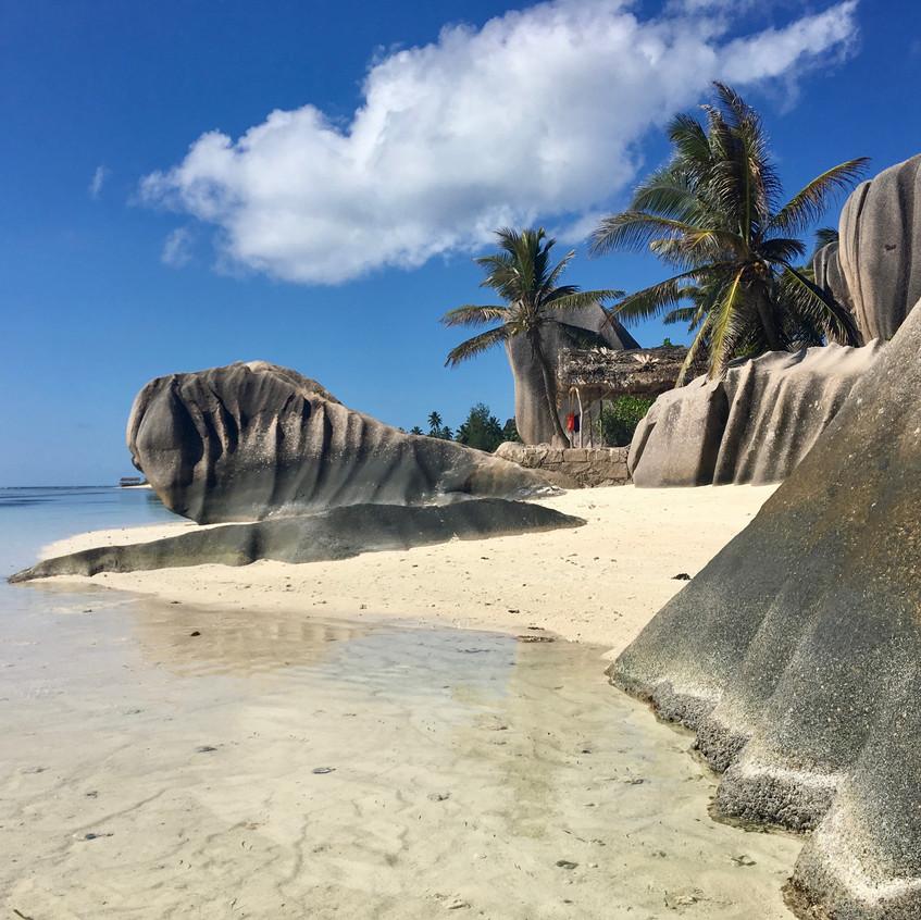 Anse Source D'Argent, La Digue island, Seychelles, Randomly Blogging Around